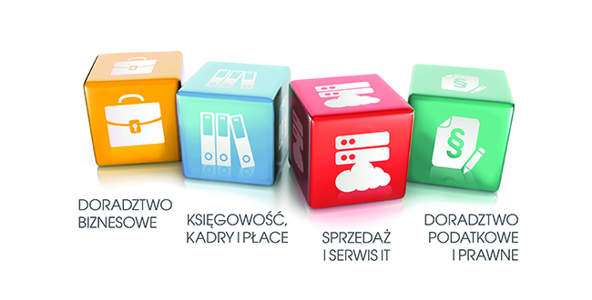 Cubes with getsix® services in polish language