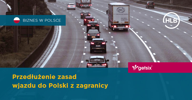 Przedłużenie zasad wjazdu do Polski z zagranicy