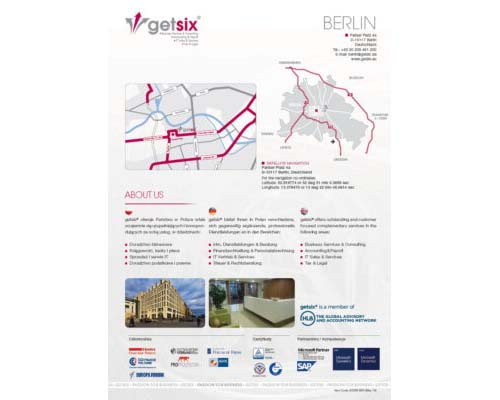 Map of Representative Office Berlin