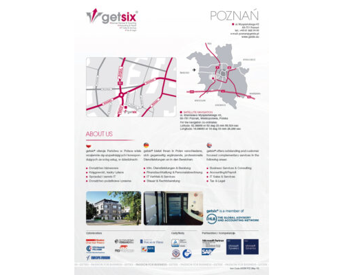 Map of Accounting Office Poznań